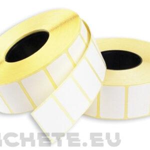 Большая термоэтикетка в один ряд купить   Etichete.eu