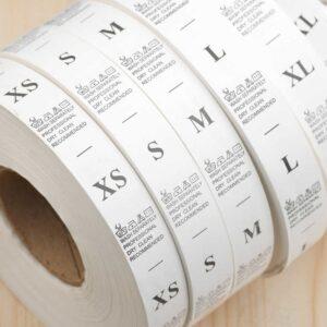 Размерники на нейлоне заказать в Кишиневе   Etichete.eu