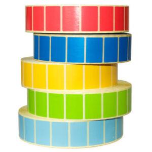 Купить большие цветные этикетки в рулонах   Etichete.eu