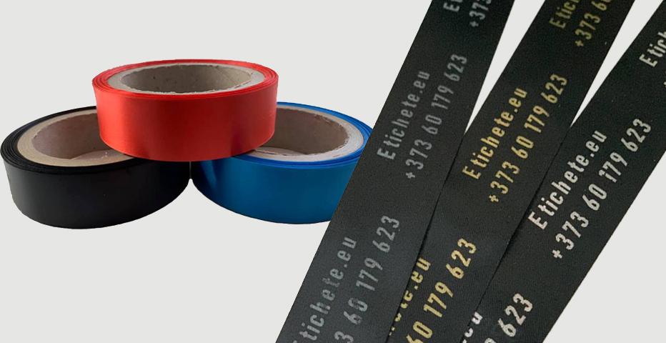 Печать на черном сатине в Кишиневе   Etichete.eu