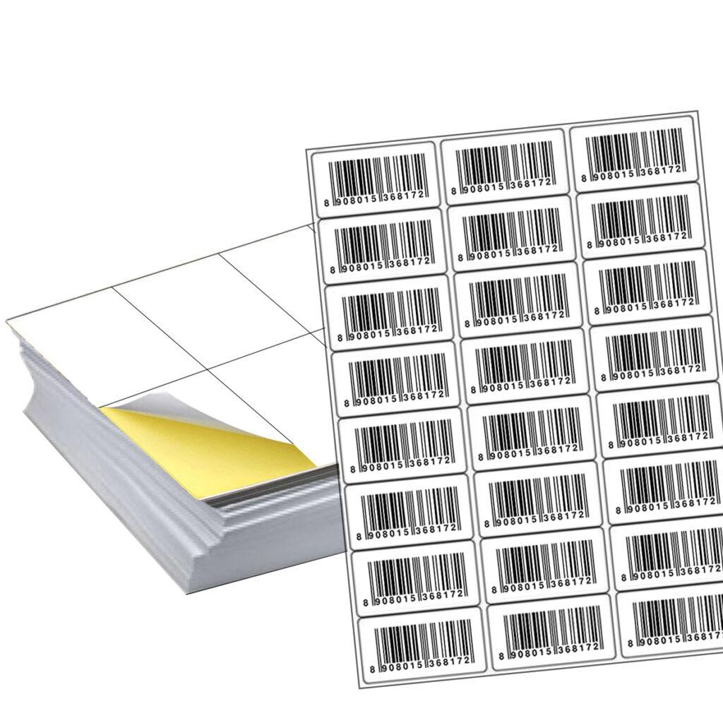 Купить самоклеющиеся этикетки на листах А4 в Кишиневе | Etichete.eu